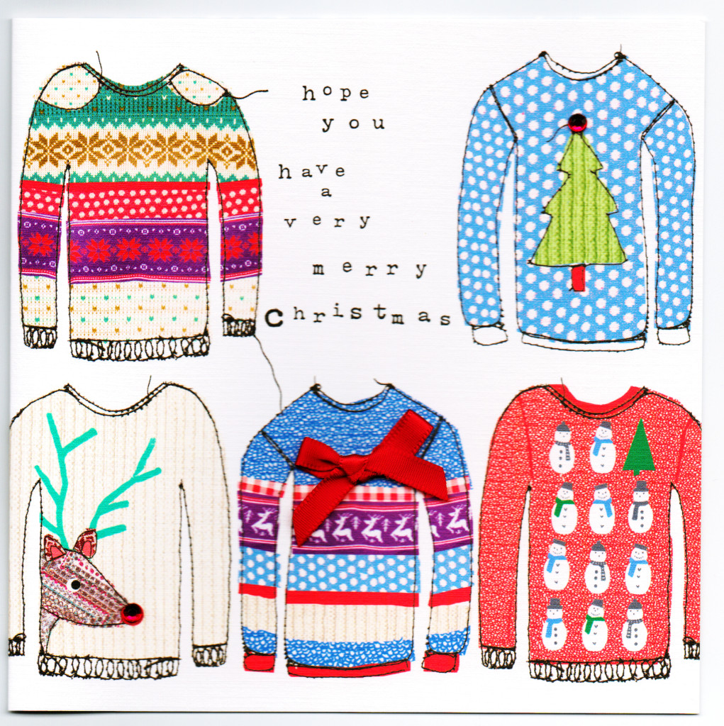 5 xmas jumpers