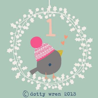 dotty wren advent 1