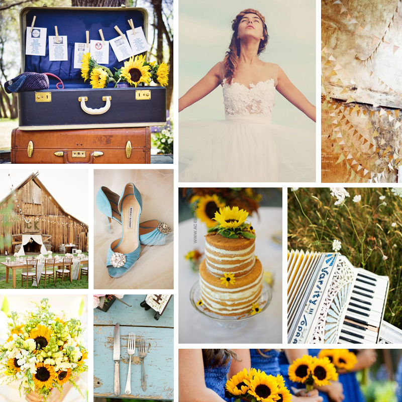 sunflower moodboard