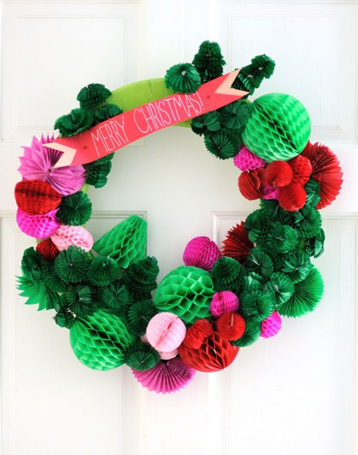 Honeycomb-wreath