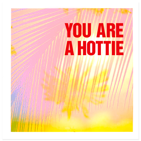 Hottie-card