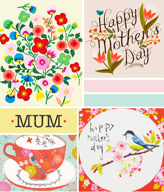 mothers day card design