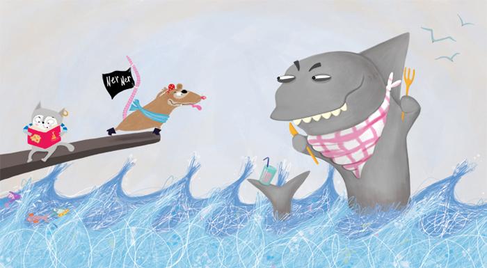 pi-rat sharks