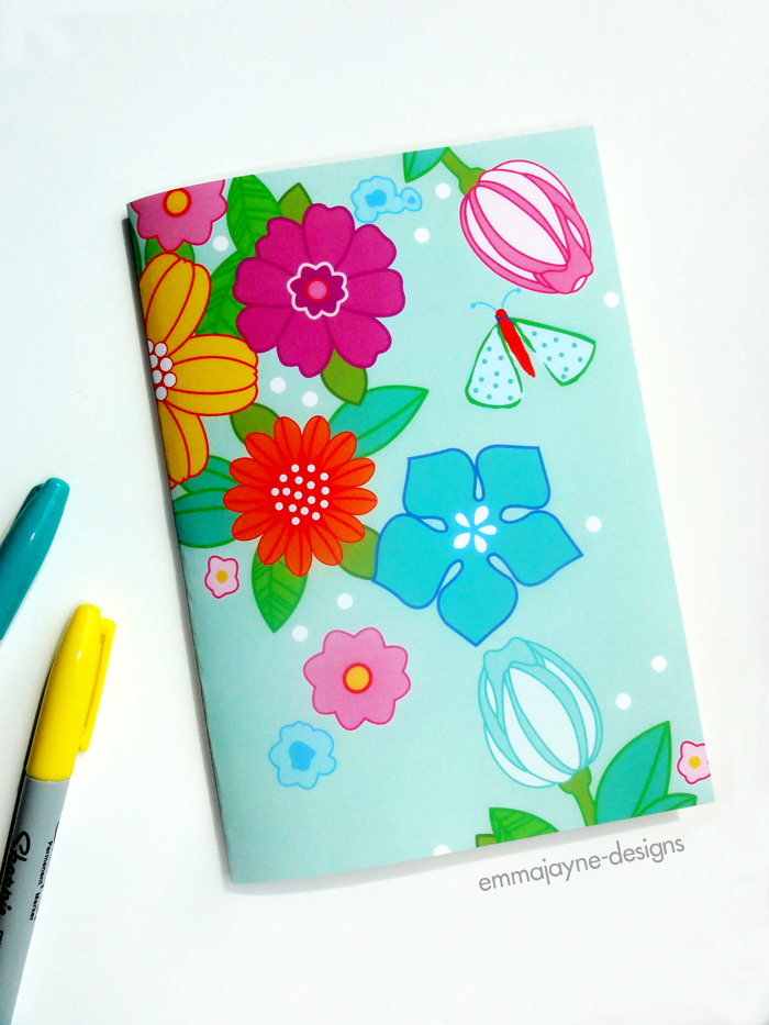 vintage-floral-notebook1-emmajayne-designs