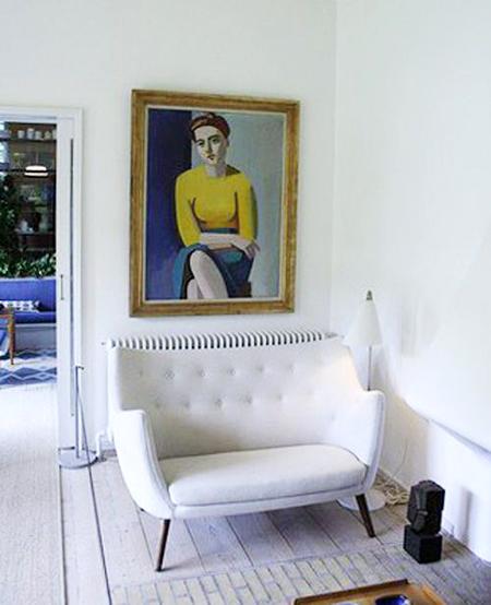 Blog archivestylish modern retro livingroom for Modern vintage living room
