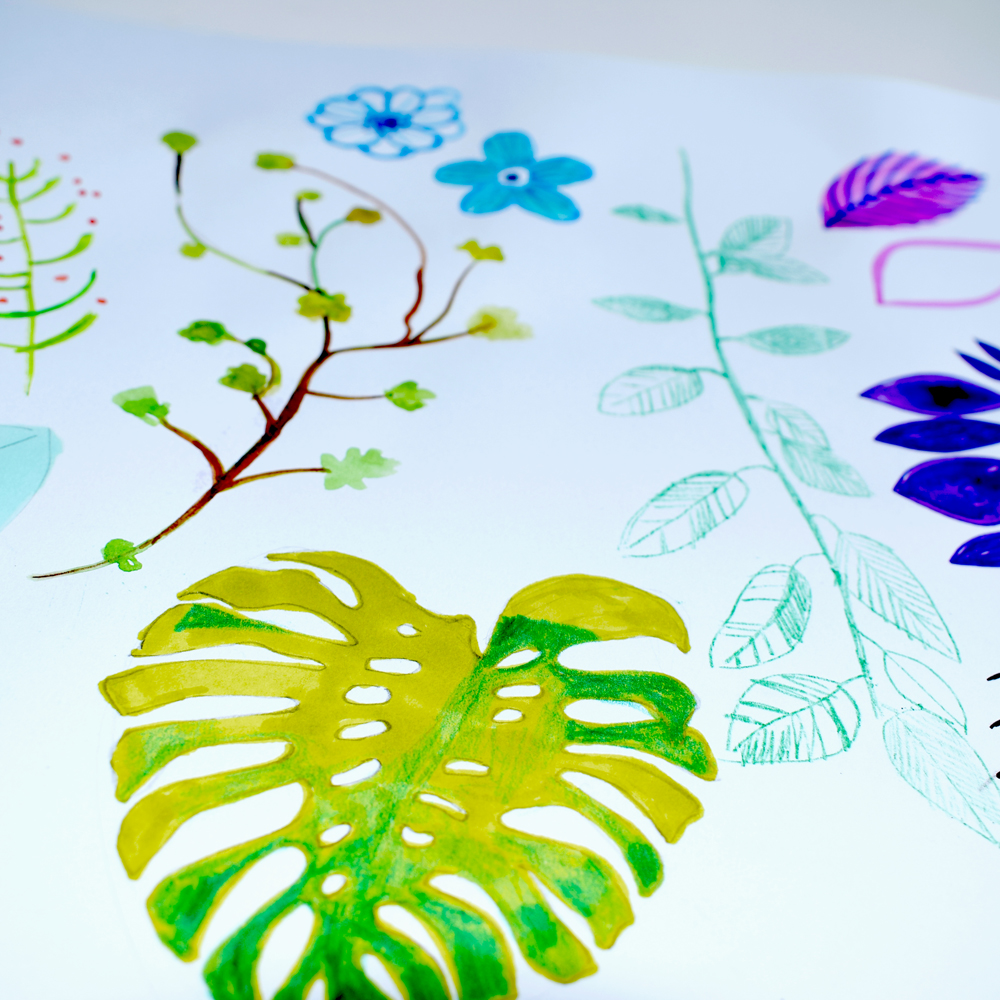 Tropical-Rainforest-print-scarf-design1-emmajayne-designs