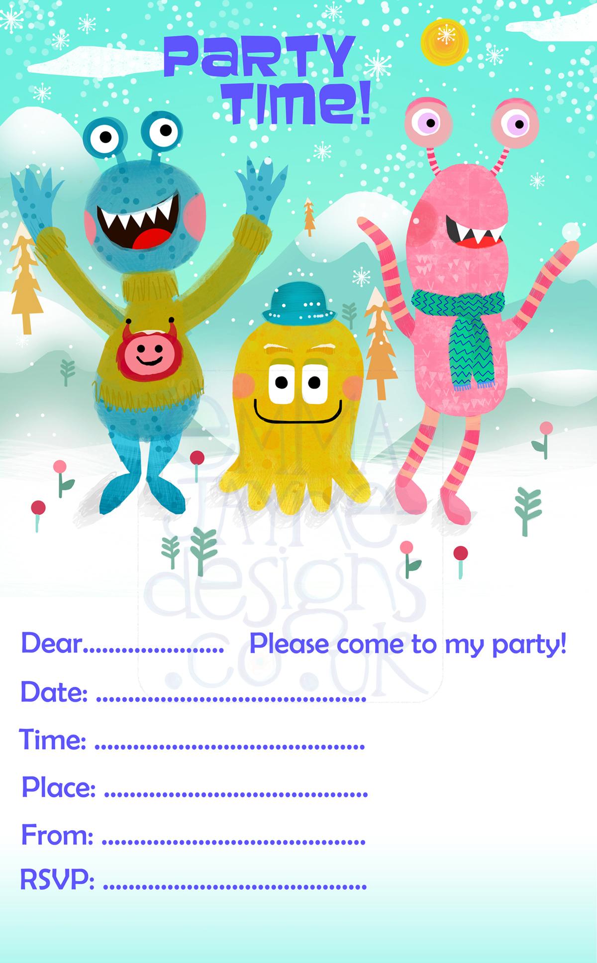 cute-monsters-character-illustration6-emmajayne-designs